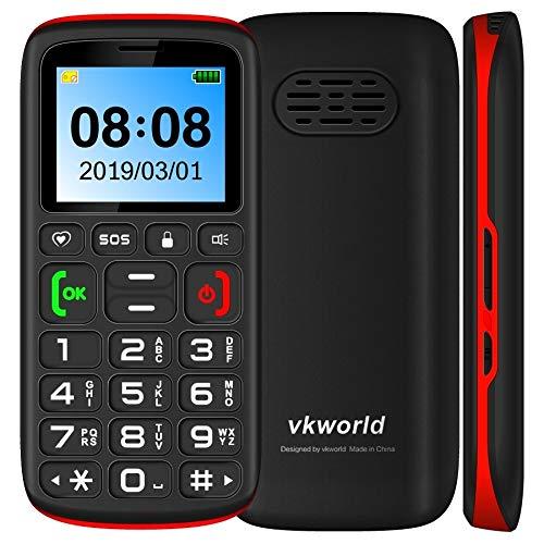 N/A Teléfono móvil Z3 Funciones del teléfono, Pantalla de 1.77 Pulgadas, batería de 1000mAh, SPREADTRUM SC6531, SOS, Bloqueo del Teclado, Dual SIM, FM, antorcha, Bluetooth, Teclado Inglés (Negro)