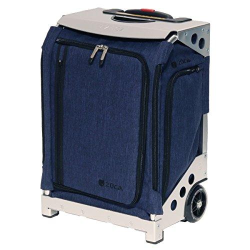 [ズーカ] ナビゲーター キャリーケース ポーチ カバー 機内持込可 32L 52.5cm 4.8kg 3300 Silver/Navy