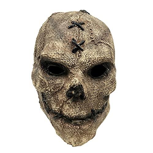 WYYUE Máscara De Halloween 2021, Máscara De Calavera De Terror, Máscara De Calavera, Horror Mask De Látex De Halloween, Máscara De Terror De Halloween Scaral para Mascarada De Cosplay