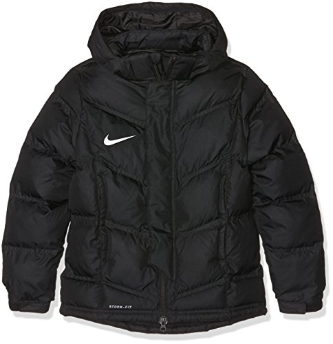 Nike Kinder Jacke Team Winter Winterjacke, black/White, XS