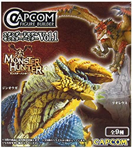 Monster Hunter Figure Volume 1 Aprox 3 One Random Figure Only 1 of 7 by Capcom