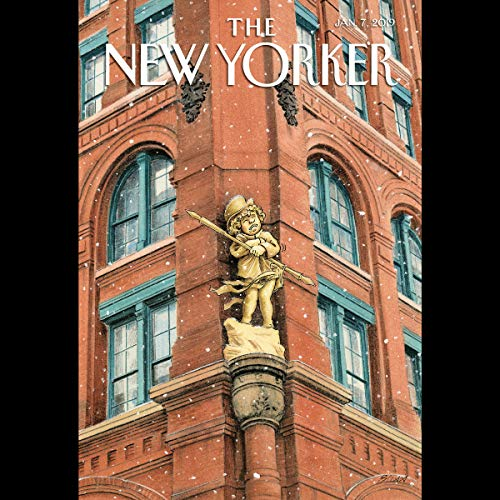 Couverture de The New Yorker, January 7th 2019 (Patrick Radden Keefe, Lauren Collins, Jill Lepore)