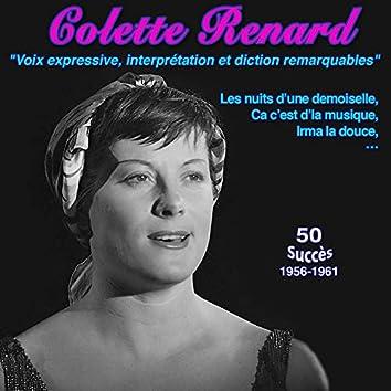 """Colette Renard """"La dernière chanteuse réaliste"""" Ca, c'est d'la musique les nuits d'une demoiselle (50 Succès (1956-1961))"""