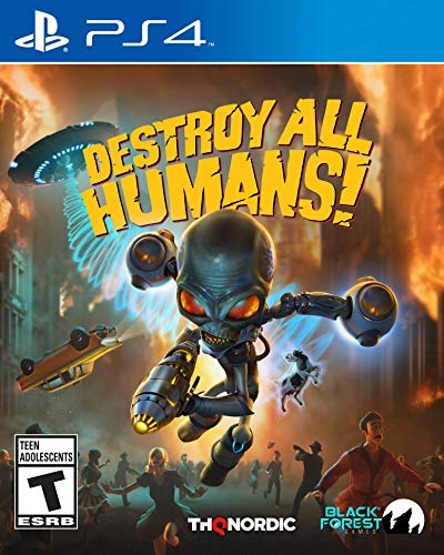 Destroy All Humans for Playstation 4 for 15.00