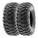 SunF 27x9R12 27x9x12 ATV UTV A/T Radial Race Replacement 6 PR Tubeless Tires A043 , [Set of 2]