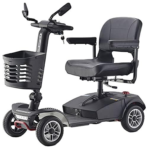 Scooters De Movilidad De 350W Y 4 Ruedas Para Discapacitados Y Ancianos,...
