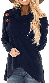 ZOMUSAR Fashion Womens V-Neck Sleeveless Bind Ruffles Shirt Blouse Casual Tank Tops