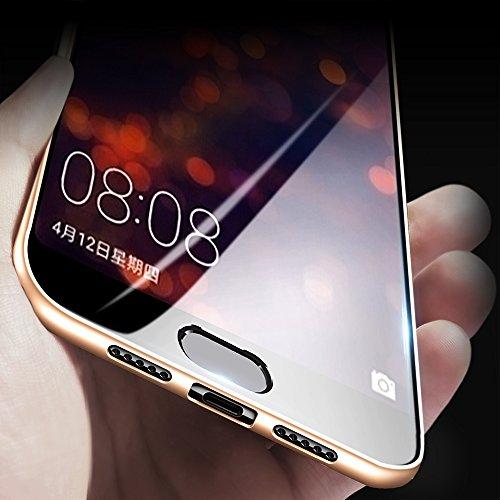 X-level Huawei P20 Pro Hülle, [Guadian Serie] Soft Flex Silikon Premium TPU Echtes Telefongefühl Handyhülle Schutzhülle für Huawei P20 Pro Case Cover - Gold - 2