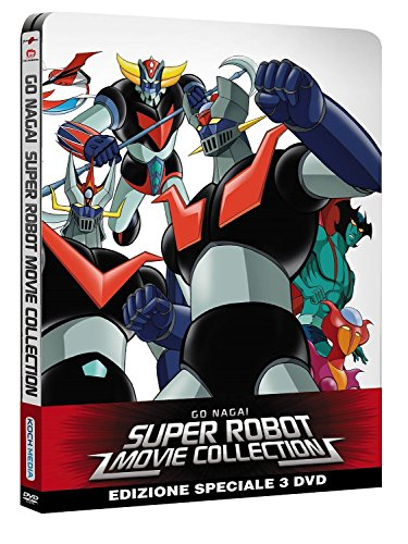 Go Nagai Super robot movie collection (steelbook) [Italia] [DVD]