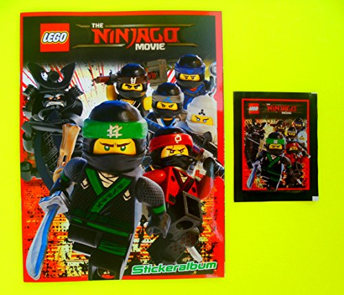 Lego Ninjago Movie 1 Stickeralbum 2017