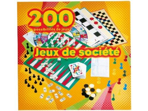 Partner Jouet - FAP20001 - Jeu de société - Poker - Coffret 200 Jeux