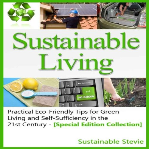 Sustainable Living audiobook cover art