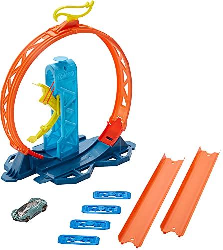 Hot Wheels Track Builder Accesorios para Pistas de Coches Acelerador de Loop (Mattel GLC90) , color modelo surtido