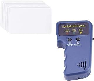 Rubik 125KHz RFID Proximity Cards Reader/Writer/Copier/Duplicator Handheld ID Card Writer With 6pcs Writable ID Cards