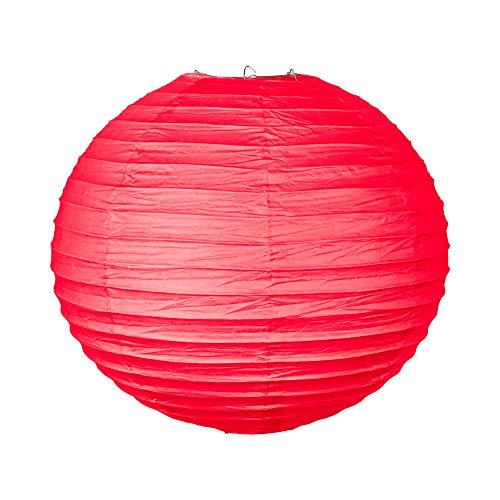 SKYLANTERN Boule Papier 40cm Rouge