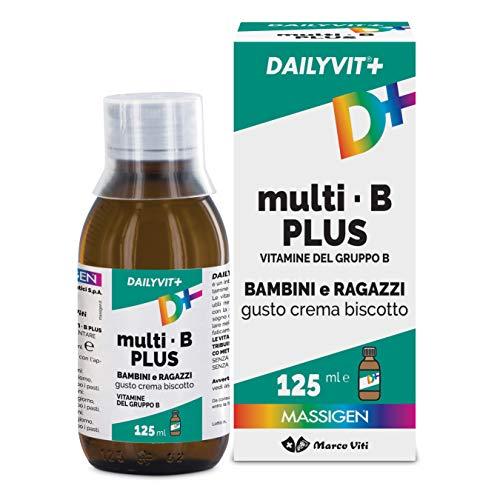Massigen Dailyvit+ Multi B Sciroppo - Integratore di Vitamine del gruppo B 125 ml
