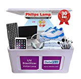 Deleflu Ultra~Violet Sani~tizer UV-Cleaner Cabinet Big Box Dis~infection and Deoderize for Home Office Clinic Salon Retail Store with Philips Lamp