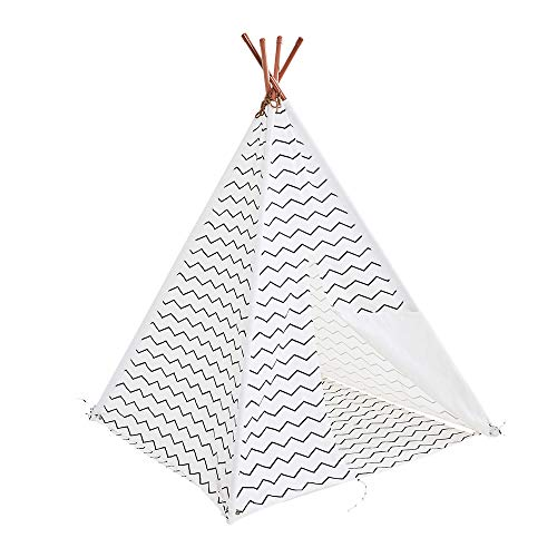Great Little Trading Co ZL4369 Little Trading Co. Play Teepee, Zig Zag