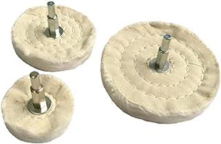 3pcs  2 Inch Polierscheibe aus Baumwolle für Schleifbock Schleifwerkzeug