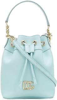 Luxury Fashion | Dolce E Gabbana Womens BB6844AX49580610 Light Blue Handbag | Spring Summer 20