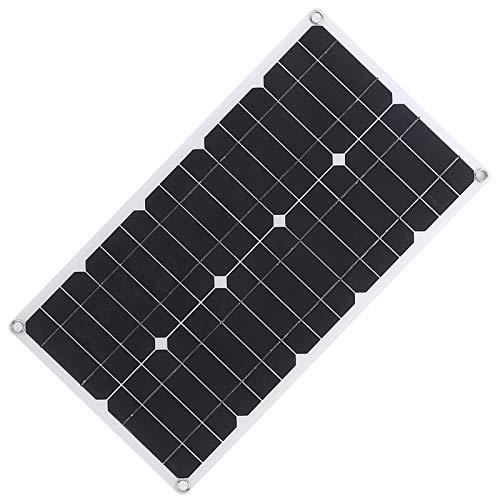 Mxzzand El Panel Solar Ligero del Panel Solar USB de los Puertos USB duales para los semáforos con Buena flexibilidad
