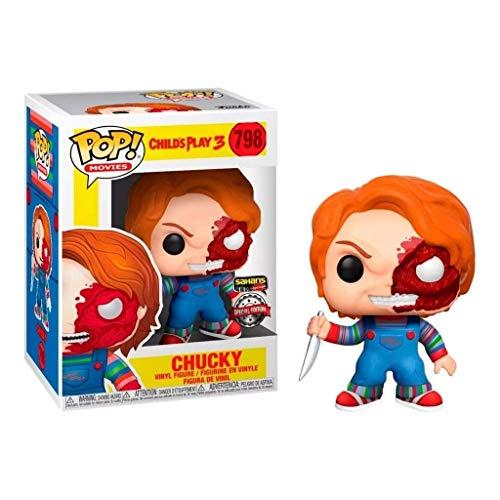 MMZ ¡Popular!Chucky (Edición Especial) de colección de Vinilo Figurita de la Serie Classic Película: Juego 3 del niño