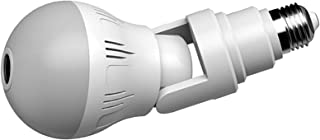 Blesiya Wireless Bulb Security Camera, 360° Panoramic Camera Bulb, Security Bulb Camera WiFi Home Video Baby Monitors Came...