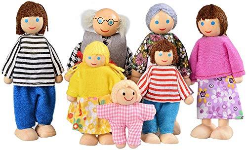Kids B Crafty Muñecas Casa Juego De Madera Juego Muñecas F