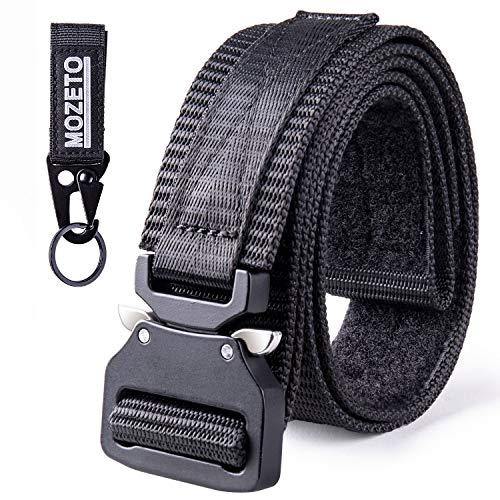 MOZETO Tactical Belt Velco, 1.5' Military Nylon Web Belts...