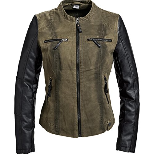 Spirit Motors jas tussenjas zomerjas jas Casual Dames Stedelijk Jasje 1.0, Dames, Casual/Mode, All-season, Polyurethaan, groene, 36