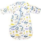 スリーパー ベビー 冬 綿 柔らかく 赤ちゃん用スリーパー 厚め あったかい 袖あり 2歳から4歳