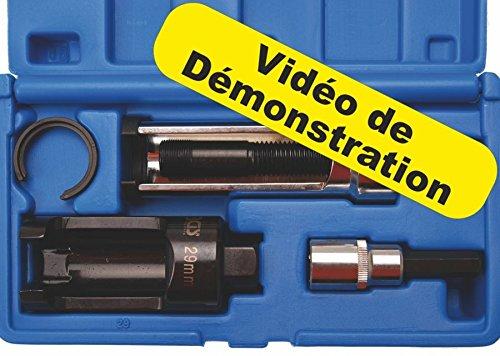 Kit extractor para válvula de inyección, Mercedes Original, BGS Technic