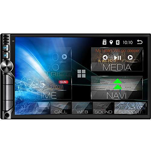 "Tristan Auron BT2D7019A Android 10 Autoradio mit Navi - DAB Plus I 7\"" Touchscreen GPS Bluetooth Freisprecheinrichtung I 32GB MirrorLink USB SD OBD 2 DIN"