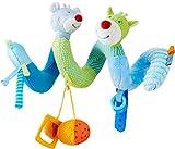 Haba 303881 - Mobile-Spirale Maus Merle & Drache Duri   Spieltrainer aus Stoff mit spannenden Spieleffekten   Baby-Spielzeug aus der Serie Maus Merle und Drache Duri