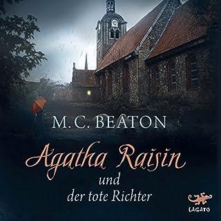 Agatha Raisin und der tote Richter Titelbild