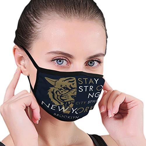 N/A Máscaras de Moda Reutilizables Máscara bucal impresión de Tigre