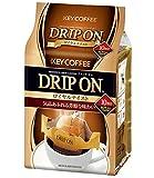 キーコーヒー ドリップオン ロイヤルテイスト 粉 (8gx10p) 80g