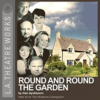 Round and Round the Garden     Part Three of Alan Ayckbourn's The Norman Conquests trilogy              De :                                                                                                                                 Alan Ayckbourn                               Lu par :                                                                                                                                 Rosalind Ayres,                                                                                        Kenneth Danziger,                                                                                        Martin Jarvis,                   and others                 Durée : 1 h et 17 min     Pas de notations     Global 0,0