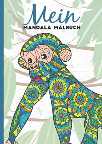 Mein Mandala Malbuch: 50 tierisch tolle Tiermandalas für Kinder ab 8+ Jahren zum Ausmalen und als Kopiervorlage für PädagogInnen. (Tierisch tolle Mandalas, Band 7)