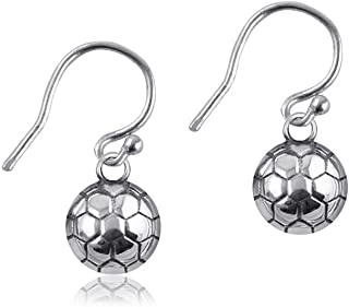 Soccer Jewelry by Dayna Designs - Sterling Silver Soccer Ball Jewelry