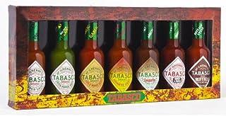 TABASCO Caddy, Family of Flavours, 7150ml, 7 Glasflaschen Chili-Sauce, 100% natürlich, Geschenkset