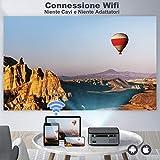 Zoom IMG-1 toptro proiettore wifi bluetooth 7500