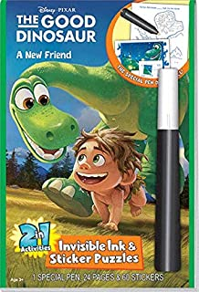 The Good Dinosaur-a Friend 2in1 Magic Pen Book From Usa.