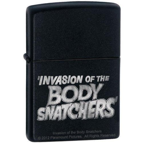 "Zippo ""Invasion of the Body Snatchers"" ムービーライター ブラックマット 9206"