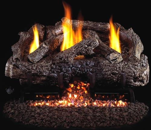 Find Cheap R.H. Peterson CHFRG10-30-12 - 30 Ventless Charred Frontier Oak Vent Free Gas Logs with...