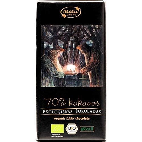 RхTA Bio Dunkle Schokolade, 100 g, 2 Stück
