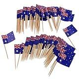 Beito Mini Flag zahnstocher 100 stücke australien Flagge Kuchen Auswahl internationalen veranstaltungen Cocktail Stick Flag Obst Lebensmittel Pick