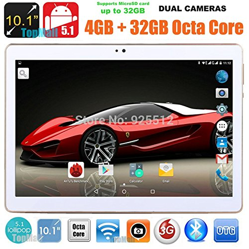 10 inch 8 core Black Tablet PC Octa Cores 2560X1600 IPS RAM 4GB ROM 64GB 8.0MP WIFI 3G Dual sim card Wcdma+GSM Tablets PCS Android5.1 electronics 7 9 10
