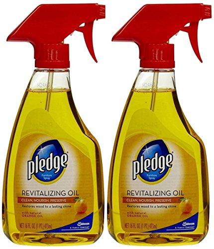 Pledge Revitalizing Oil With Natural Orange Oil