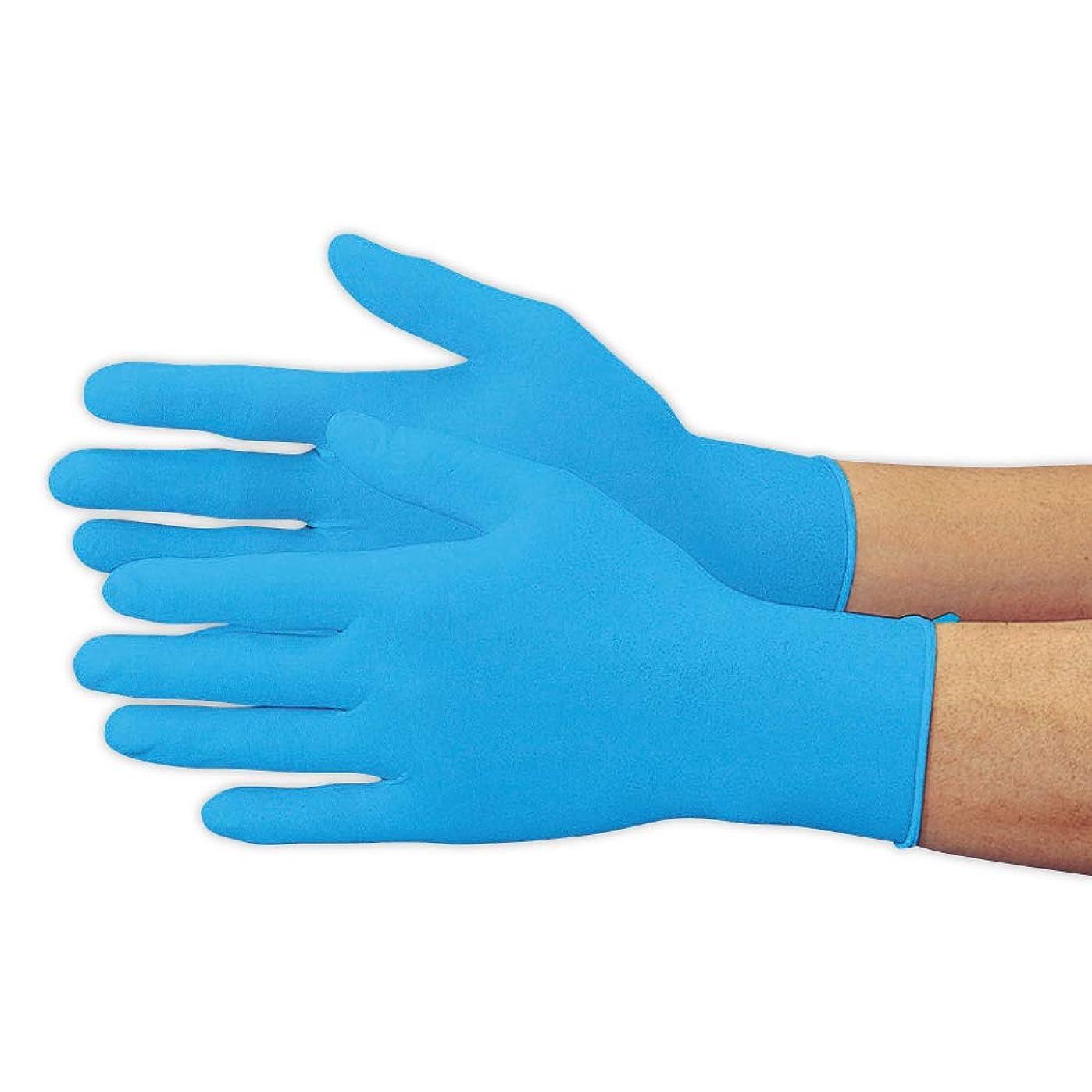 カウンターパートコマンド副詞おたふく手袋 ニトリル極薄手袋 L 100枚 #256